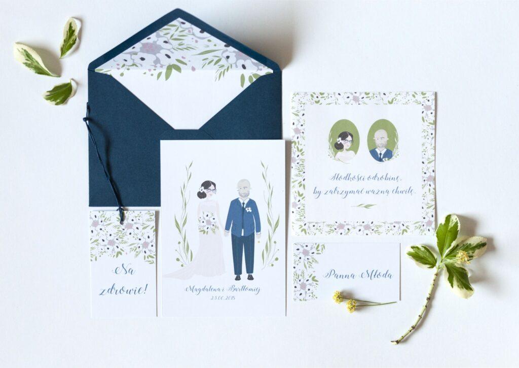 Zaproszenia ślubne - kolekcja FunnyLove