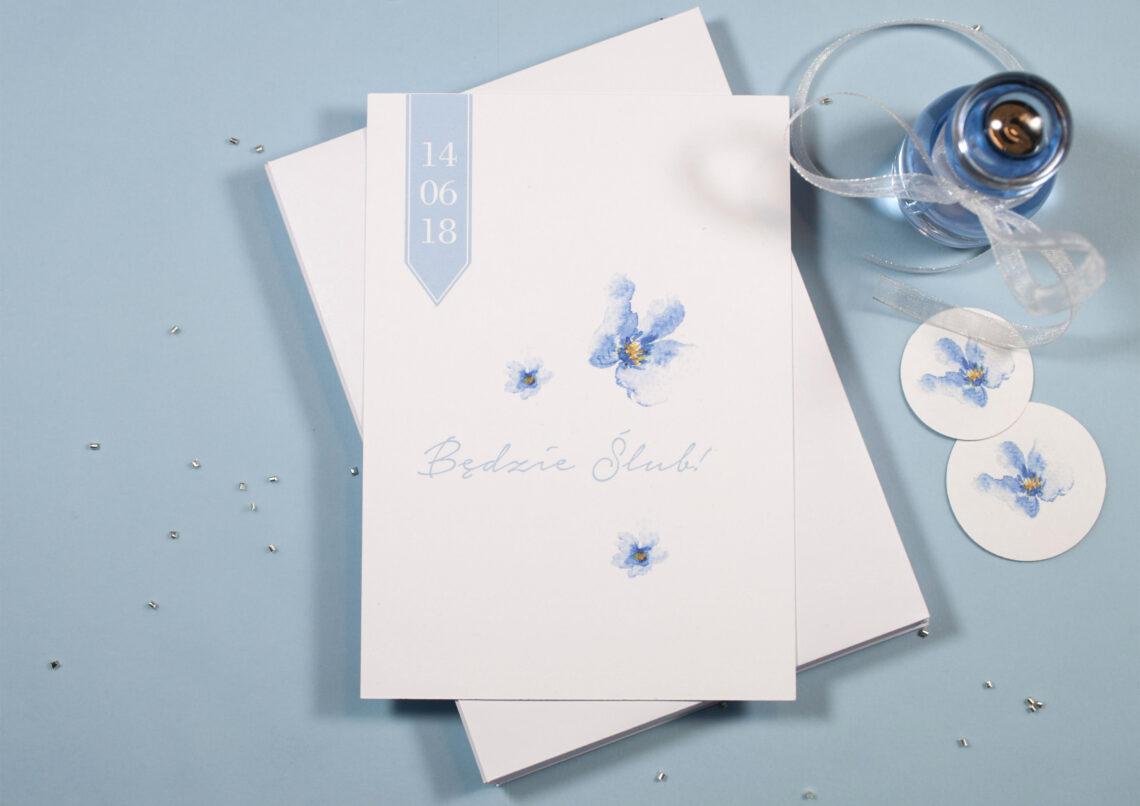 Zaproszenia ślubne - kolekcja Little Things